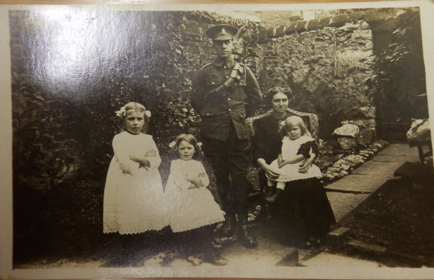 Harry Carus and family. Clitheroe 1915.