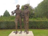 WLA and Timber Corps memorial - National Arboretum