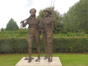 WLA and Timber Corps memorial - National Arboretum