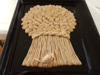 Wheatsheaf ready for the oven
