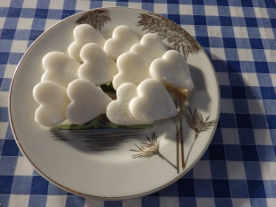 Peppermint Creams - the finished article