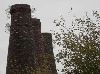 3 bottle kilns