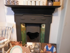 Fireplace in William Edwards's Factory Shop