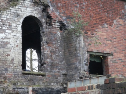 Derelict factory in Stoke