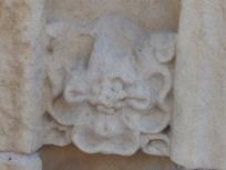 Stone rose - Rufford Abbey