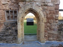 Window frame - Rufford Abbey