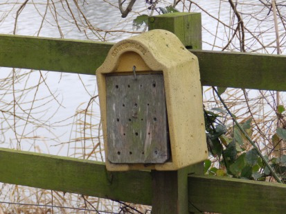 Bug hotel at Attenborough