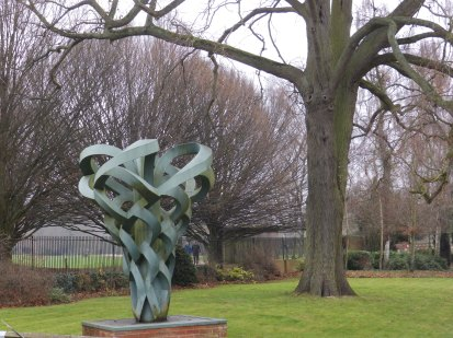 Sculpture at Rufford