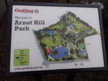 Sign - Arnot Hill PArk, Arnold