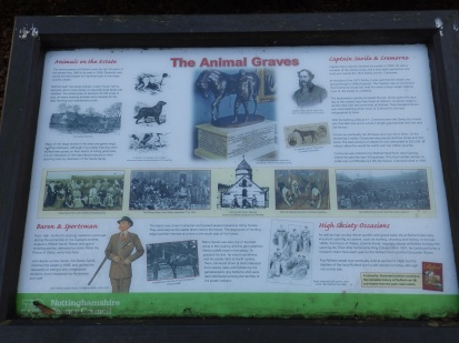 Pet Graves at Rufford Abbey