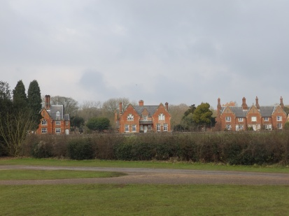 Houses at Hardwick village