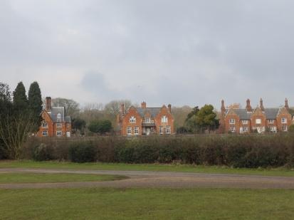 Houses at Hardwick village