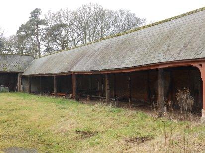 Unused farm buildings
