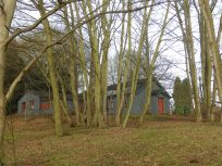 A shed in the woods at Clumber ParkPUS DIGITAL CAMERA