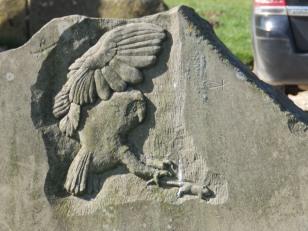 Carving at Sheepwash Car Park - Carsington