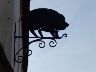 Pork Butcher's Sign
