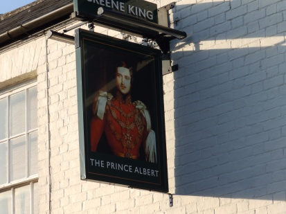 Prine Albert pub sign