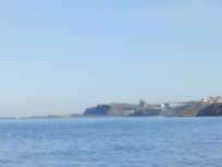 Looking south to Whitby
