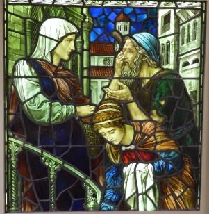 Henry Holiday 1907 Essex Unitarian Church Notting Hill, London