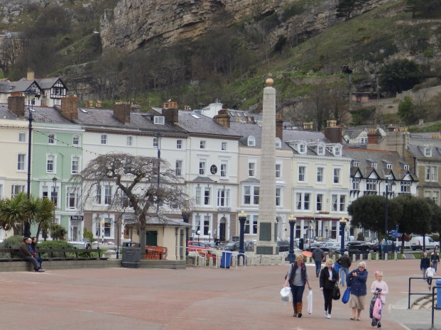 Llandudno, including War Memorial