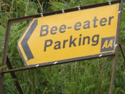 An unusual sign
