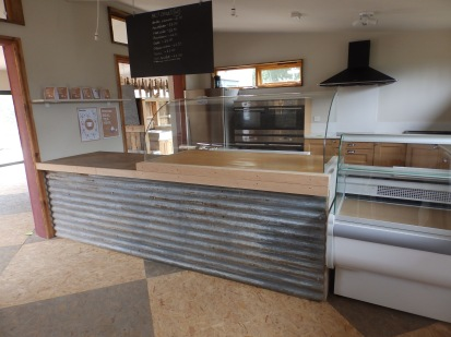 Corrugated iron bar