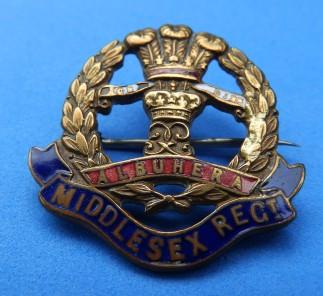 Middlesex Regiment WW1