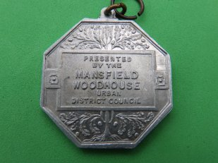 1952 Coronation medal from Mansfield Woodhouse