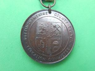 George V silver jubilee medal (reverse)