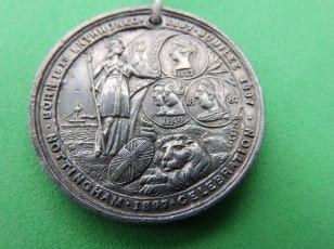 Nottingham 1897 Jubilee Medal