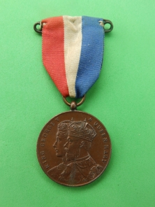 Medal George V and Queen Mary
