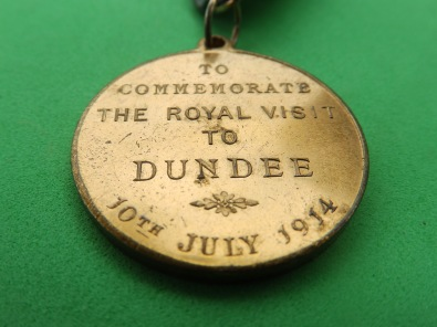 Royal visit to Dundee 1914