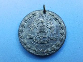 Sheffield Peace Medal - reverse