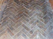 Old parquet floor - full of character