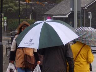 Umbrellas - Bowness
