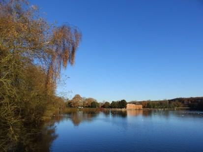 Mill on Rufford Lake
