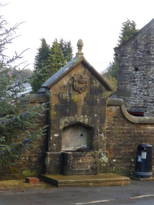 Jubilee horse trough at Slaidburn (1887)