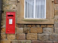 George V post box - Slaidburn