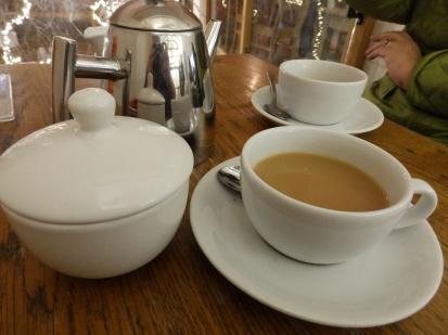 Selfie in a teapot