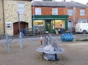 Bench and Greengrocer - Heckington