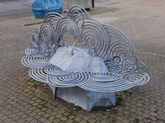 Bench at Heckington