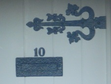 Detail on house