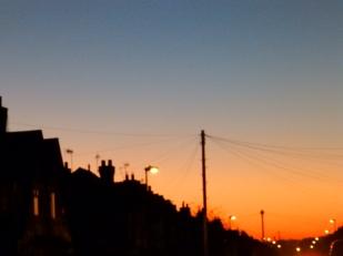 Sunset over Sherwood