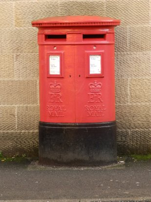 Double pillar box - Bakewell