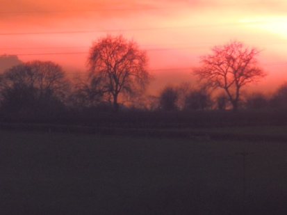 Sunset, Notts