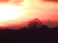 Sunset, Nottinghamshire