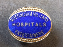Entertainers Badge - Nottingham - Great War