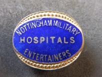 Entertainers Badge - Nottingham - Great War
