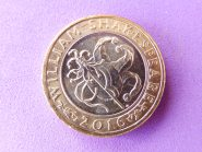 Shakespeare £2 coin - comedy