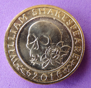 Shakespeare £2 coin - tragedy